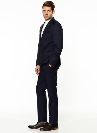 George Hogg George Hogg 7001806 Mikro Rahat Kesim Lacivert Takım Elbise Erkek Takım Elbise Lacivert
